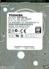 TOSHIBA SATA 500GB MQ01ABF050,  AAS AA01/AM002H, MADE IN CHINA