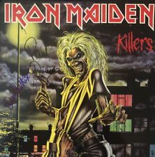 More details for iron maiden killers  **hand signed vinyl**    dennis stratton / paul dianno