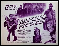 FLASH GORDON CONQUERS THE UNIVERSE BUSTER CRABBE UNIVERSAL SERIAL R-1945 TC
