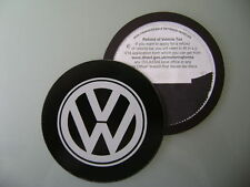 Magnetic Tax disc holder fits any volkswagen vw camper polo golf eos silver  gti