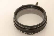 ATAMA FILTER B50, BAYONET 50 STAR, CROSS FILTER FOR HASSELBLAD