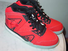 2014 Nike Air Tech Challenge Hybrid Chilling Red/Black Tennis Shoes! Size 8