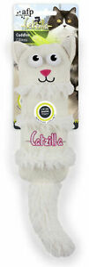 Catzilla Crinkle Cuddle Toy ONE Assorted Color Toy Color Chosen at Random