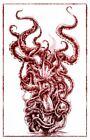 Depression Self Doubt Tentacles Art Dark Scary Creepy Artwork Poster 11x17