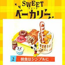 Rare! Re-ment Miniature Disney Mickey & Minnie Sweet Bakery No.2 Breakfast