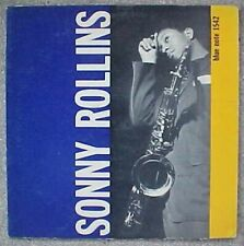 SONNY ROLLINS BLUE NOTE #BLP 1542 DEEP GROOVE LP (1958) 47 West 63rd NYC RVG Ear