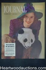 Ladies Home Journal Oct 1938 Munkacsi cover - High Grade