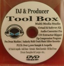 DJ & Producer Tool Box – Samples - Software Programs…