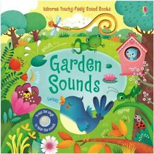 Garden Sound (Usborne Sound Books) NEW