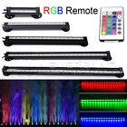 12/26/32/42/46cm Acquario LED 5050 RGB Fish Tank Bar Luce Lampada Impermeabile