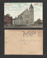 1910s ST PATRICKS CHURCH CEDAR RAPIDS IOWA POSTCARD