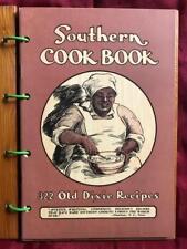 RARE SOUTHERN RECIPE RACIST COOK BOOK Civil War CSA vtg AFRICAN AMERICAN BLACK