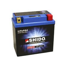 Shido Litio Hierro Batería de Motocicleta LTX14AHL-BS GTX14AHL-BS