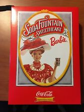 1996 Soda Fountain Sweetheart Barbie - First In Series - Mint Condition