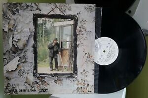 Лед Зеппелин (Led Zeppelin)– 1971 IV (LP, Made in USSR1991) Near Mint