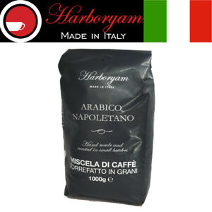 Harboryam - Coffee beans - 100% Arabica blend traditionally made in Italy