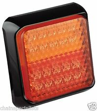 LED Autolamp 80BSTIME Square Compact Combination Lamp, 12/ 24 V