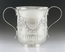 Antique 1782 Early Georgian English Sterling Silver Trophy or Loving Cup NO MONO