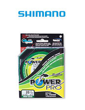 Trecciato Power Pro Shimano 135 Mt 0,23mm 15kg 0,23mm 15kg 33lb Moss Green PP