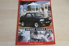 87613) Suzuki Grand Vitara + Cabrio Prospekt 09/1999