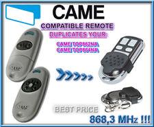 Came TOP-862NA / TOP-864NA compatible remote control, 868,3MHz CLONE, Duplicator