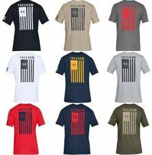 Under Armour Mens Athletic UA Freedom Flag T-Shirt Short Sleeve Tee - 1333350