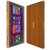 Skinomi Light Wood Skin+Clear HD Screen Protector for Acer Aspire Switch 10