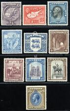 CYPRUS 1928 SG 123-32 SC 114-23 VF OG MLH * SCARCE COMPLETE SET 10 STAMP