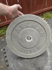 Cast Your Own Weights! 45lb Olympic Concrete Weight Mold. Made in USA