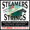 STEAMERS REGULAR LIGHT 10-46 GAUGE STRINGS, MADE in USA, NEW, FREE POSTAGE