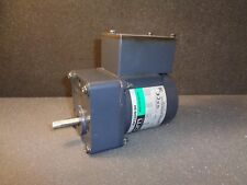 ORIENTAL MOTOR 4IK25GN-SH INDUCTION MOTOR W/4GN15KA GEAR HEAD