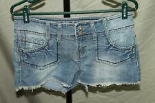 Mudd Blue Denim Jean Shorts Womens Size 9
