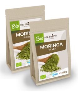 BIO Moringa Pulver 500 g   Blattpulver aus kbA (29,90 EUR/kg)