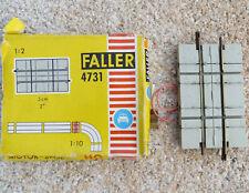 Faller Ams 4731 Rails Crosses Straße IN Original Packaging