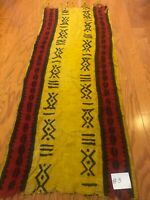 African hand made mud cloth scarf shawl (G6)