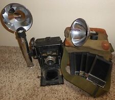 Vintage Antique Graflex Speed Graphic 4x5 Large Format Press Film STUDIO Camera