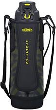 Thermos vacuum insulation sports bottle 1.5L black yellow FFZ-1501F BKY Japan