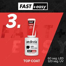 TOP COAT Fast and Easy  vernis gel Andreia UV ou LED semi permanent