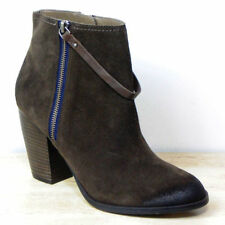 Marks and Spencer Zip Patternless Cuban Heel Boots for Women