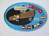 vintage JPL Employee ESA Olympus Satellite Launch Patch