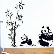 Panda Bamboo Removable Wall Sticker Vinyl Decal Room Decoration Home Decor US