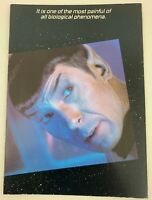 Star Trek TOS 1985 Greeting Card Spock #6 Vintage