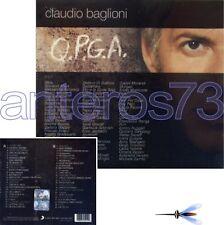 "CLAUDIO BAGLIONI ""QPGA"" CD ANGELO BRANDUARDI MINA ALICE POOH SPAGNA GIORGIA ELIO"