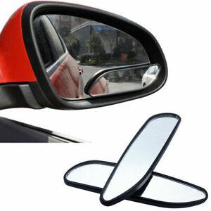 2pcs Car SUV 360° Blind Spot Rear Mirror Auto Wide Angle Convex Rear Side View