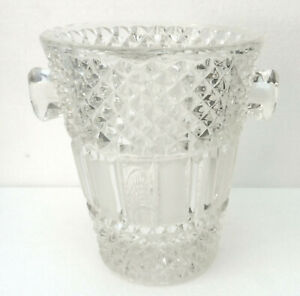Beau Bucket To Champagne Antique (Glass Moulded Or Crystal? )