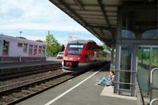 PHOTO  2012 GERMANY HARZ RAILWAY DB LOCO NO 648 76
