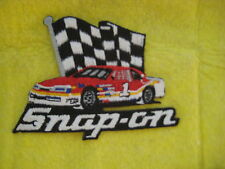 "Vintage Snap On Tools NASCAR Racing Division Patch  3 7/8  "" X  3 """