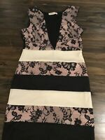 Arden B Bodycon Striped Dress Size S