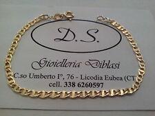 BELLISSIMO BRACCIALE IN ORO GIALLO (oro 18 kt titolo 750%) bracelet gold grams 3