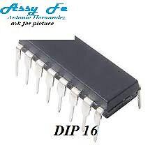 2 pcs x DS34C86TN IC-DIP16 Line Receiver Quad CMOS